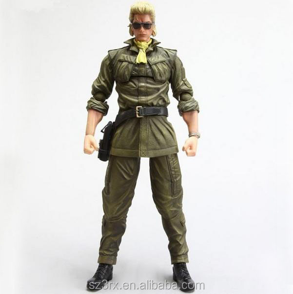 custom only:5 inch military action figure toys gun in hand plastic action figure gi joe