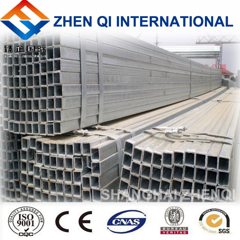 Customized Hollow Section Steel Tube / Pipe Use As Fluid Pipe