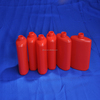 100ml red PE plastic chemical bottle for Retaining Adhesives