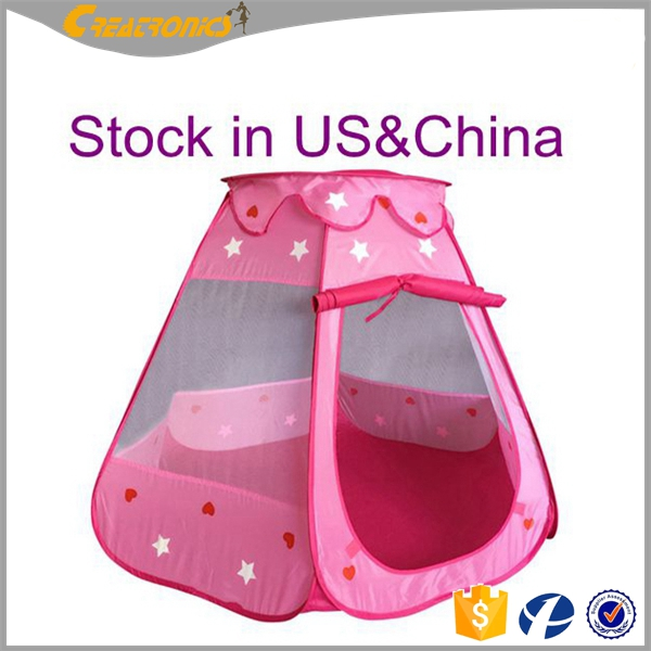 Design Kids Play House Tent Pop Up Tent New Portable Children Kid Factory Supply Attractive Price Princess Castle Play Tent
