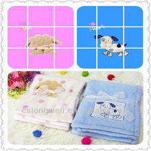 2014 New Design 100% polyester baby blanket