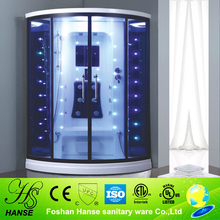 Home made steam room,glass partition shower room,girl steam shower room