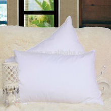 Polyester Filling Pillow Insert Cotton White Fabric Pillowcase