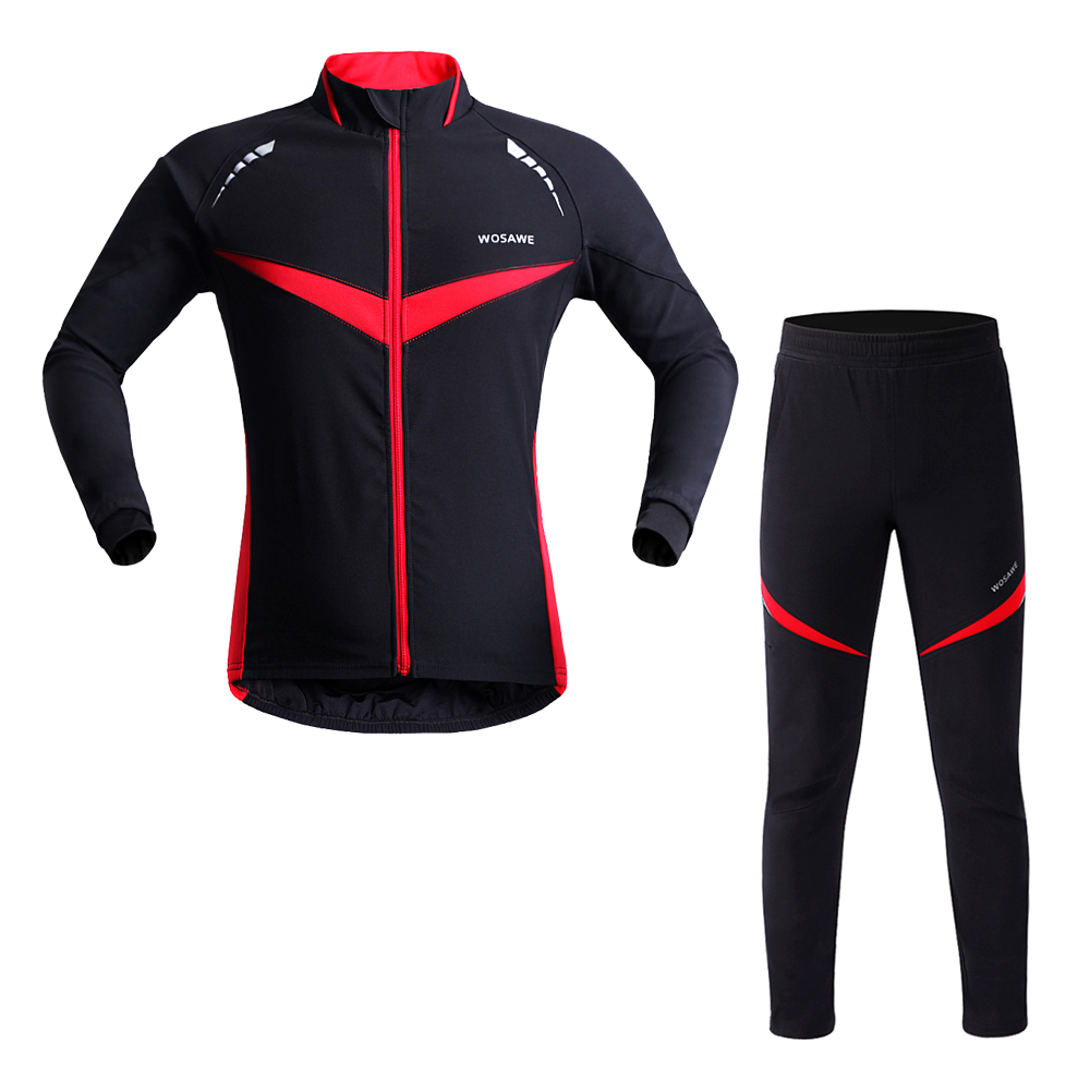 Customized wholesale cycling jersey <strong>specialized</strong> custom cycling winter Thick jacket and Pant