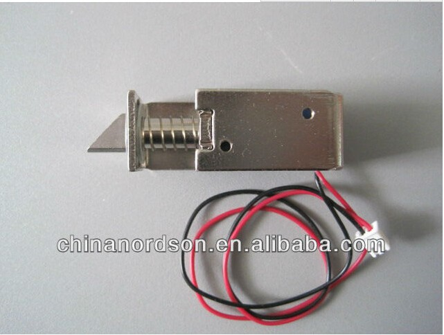 Electronic cabinet lock for locker power to open NI-13-N
