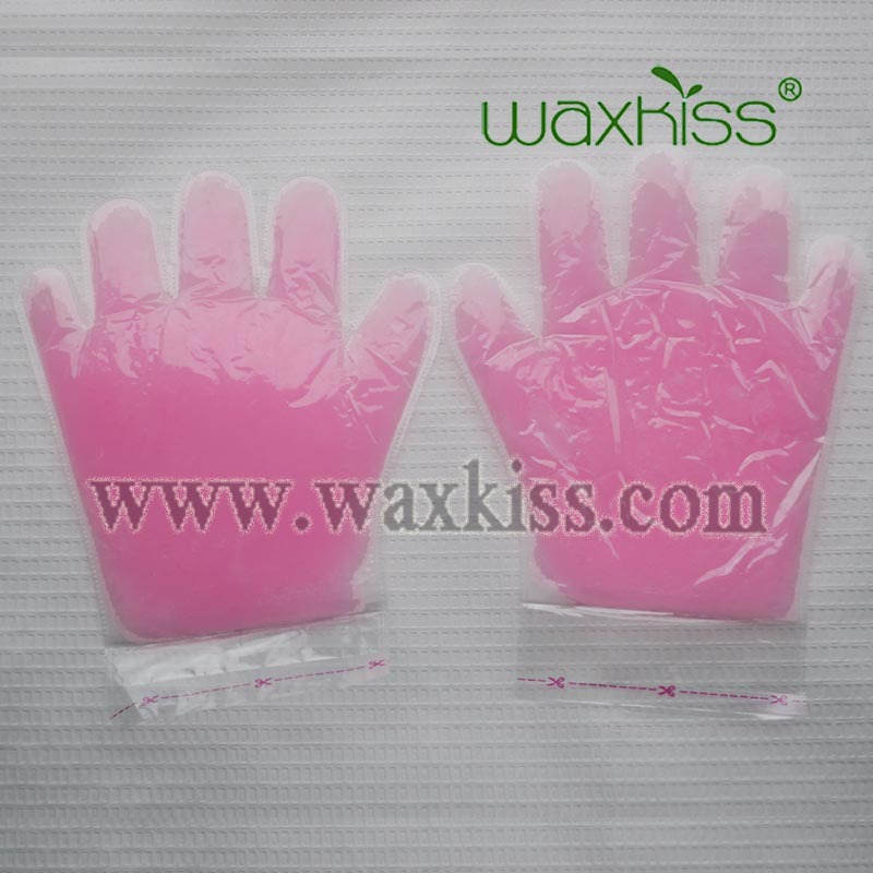 Fully refined disposable paraffin beauty hand mask glove and foot boot/sock