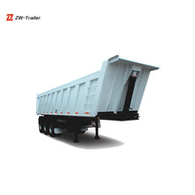 Hot Sale High Quality New Low Price Tri-axle Dump Semi Trailer