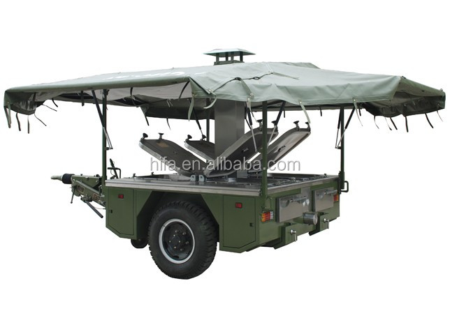 Army mobile field kitchen tailer military mobile kitchen Model XC-250