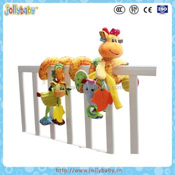 Dongguan Jollybaby Baby Hanging Plush Giraffe Spiral Crib