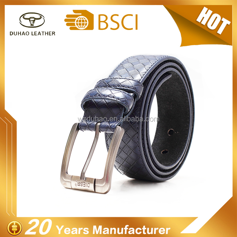 OEM classical casual pu leather belts for jeans western cowboy leisure waist belt