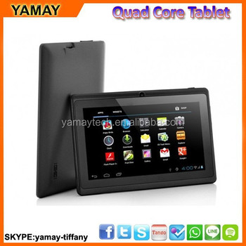 "Q88 7"" tablet android5.1 tablet allwinner A33 quad core android tablet"