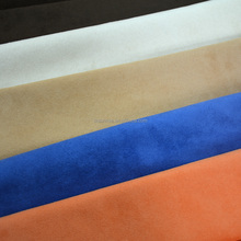Polyester faux fur fabric/micro suede fabric for garment