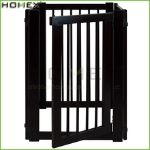 Black finish indoor dog gates /dog gates for house Homex-BSCI