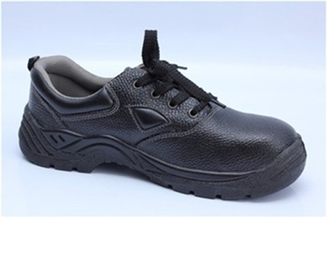 Embossed PU artificial leather Manager brand cheap industrial safety shoes No.9017