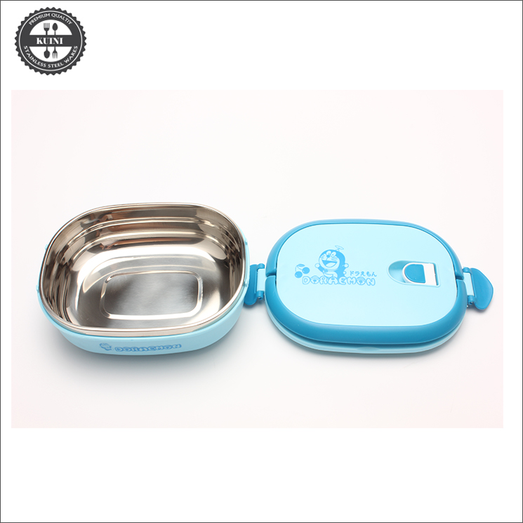Stainless Steel Kids Lunch Box with Insulated Thermos