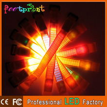 Event & Party led flashing party five-line wristband