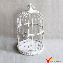 Wholesale Rustic White Small Decorative Bird Cages Wedding