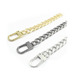Small good quality decorative metal handbag chain in stock
