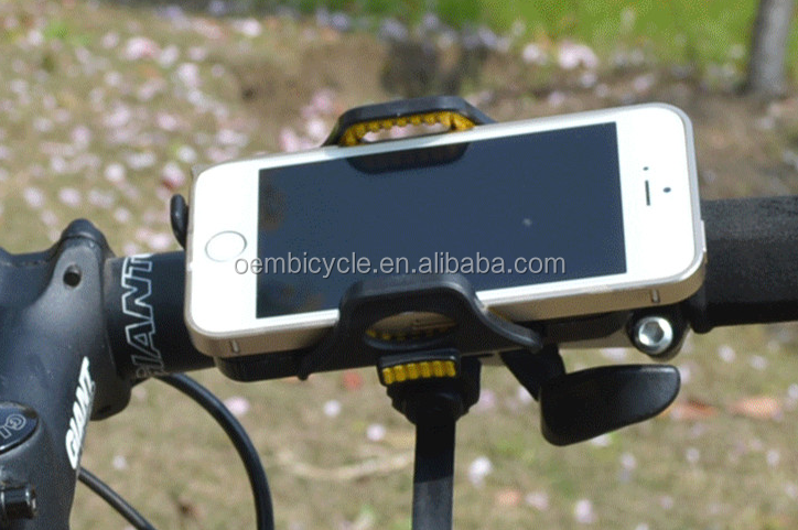 Hot sale riding equipment universal bicycle mobile cell phone holder