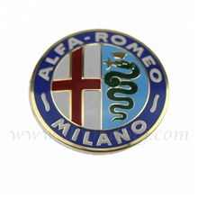dongguan high quality car logo metal badge