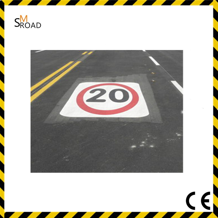 strong weather resistance reflective road marking paint glass beads