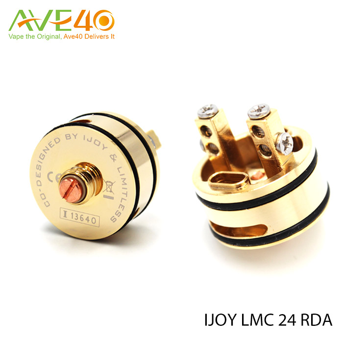 Ijoy Limitless 24 RDA Rebuildable Dripping Atomizer Fit Wismec Noisy Cricket II-25