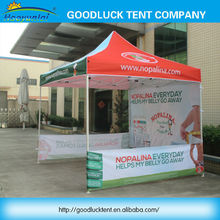 waterproof trade show gazebo tent canopy with iron frame