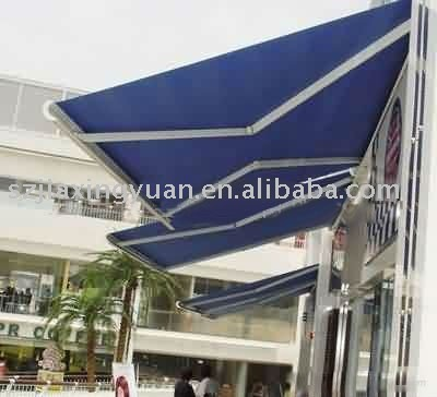 Folding Arms Full Cassette Awning