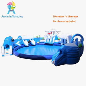 Summer amusement water games portable kids Inflatable Aqua Park