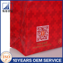 One-time forming non woven shopping bag,Recycled non woven promotional bag from china supplier