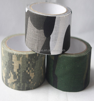 General Purpose Widely Used Heat Resistant Camouflage Cloth Duct Tape