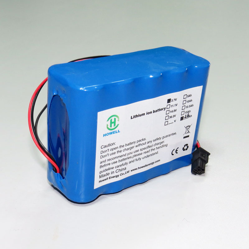 Lithium Rechargeable Battery with UL, CE, UN38.3, IEC62133 Certificate