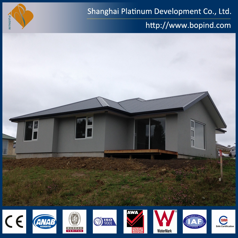 Low cost china prefab villa with bungalow homes