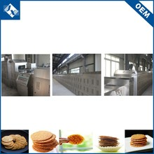 China manufacture safety automatic ignition cookies industry bakery machine
