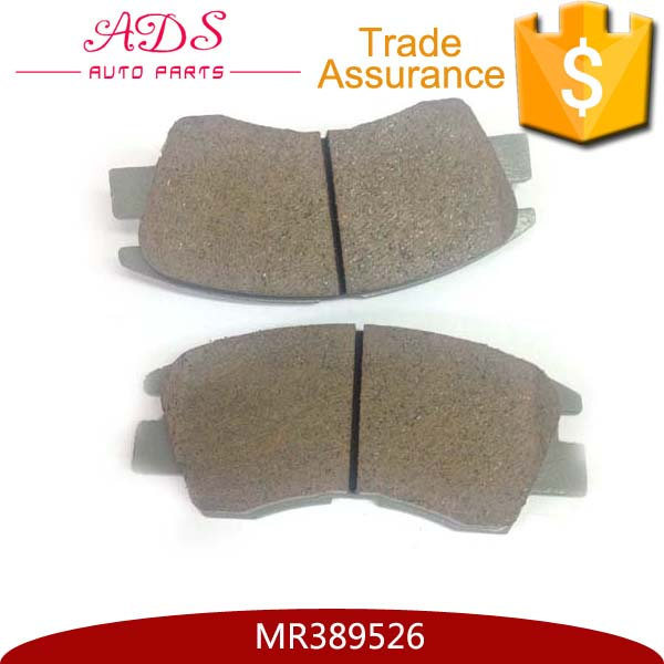 For mitsubishi V32 brake pads production process MR389526