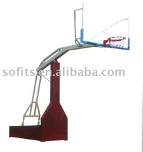 Portable Basketball System Imitated Hydraulic Pressure Adjustable Basketball Stand with Basketball Backboard