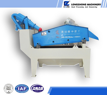 Double spray sand recycling machinery best supplier