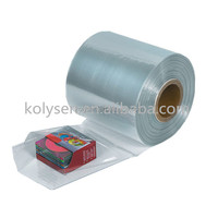 Clear POF and PE plastic heat shrink film tube shrink film bag