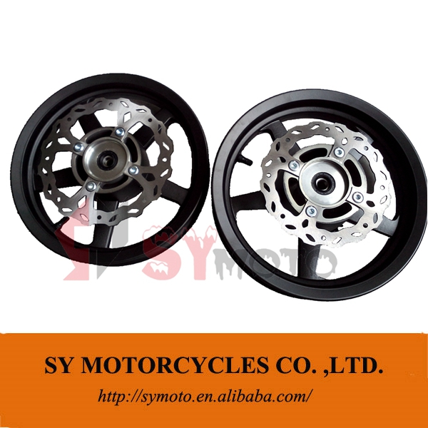 Motard Pro 12'' Tubeless Wheel with brake disc and sprocket