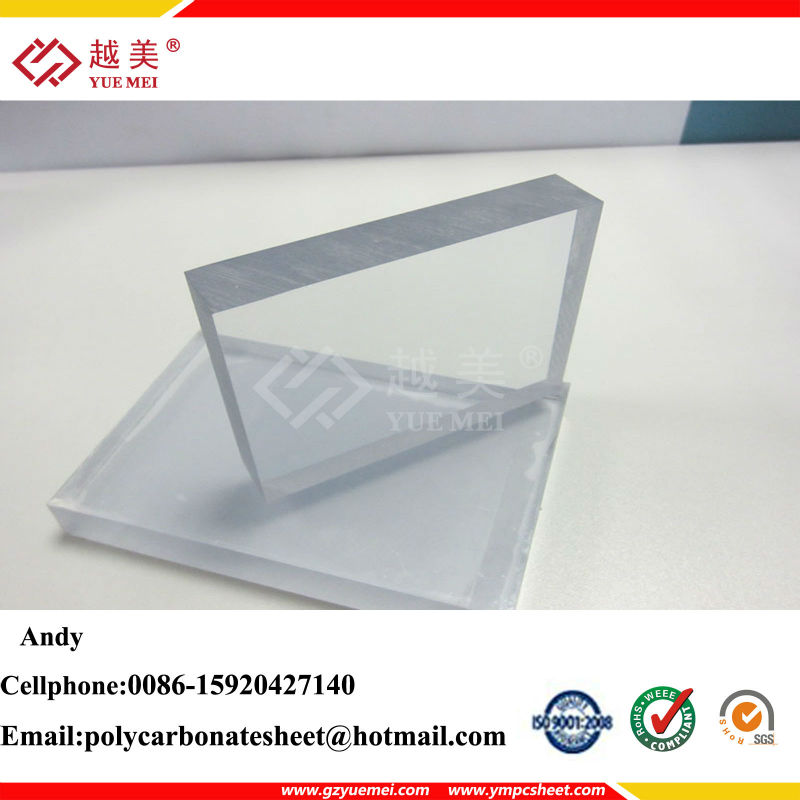 bullet proof Polycarbonate sheet with 100% virgin Ge Lexan transparent polycarbonate