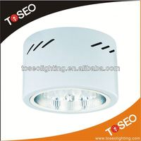 CFL surface mounted round fluorescent ceiling downlight