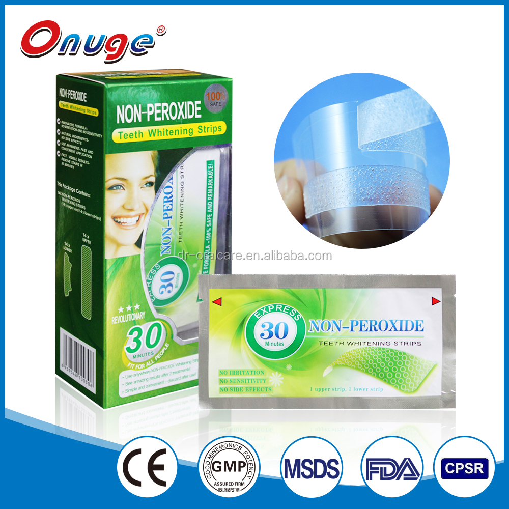 health care oral care products teeth whitening strips free peroxide home use products