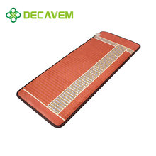 full heat alleviate pain FIR far infared ray & negative ions massage table sized amethyst mat CE,TUV,FDA APPROVED