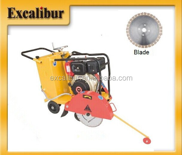 Superior Quality Asphalt Road Cutter STC -2 with air-cooled diesel S186FAE with electric starter