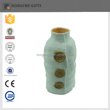 2015 new style wonderful shape bottle ceramic porcelain flower vase