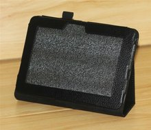 folio leather cover ase for kindle fire HD with stand or recliner leather case for amazon kindle fire 2