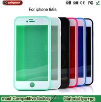 2016 Hot selling back cover waterproof mobile phone case accessories cell phone case cover for iphone 6 6S housing