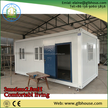Flexible size cheap mobile contaienr prefab worker camp