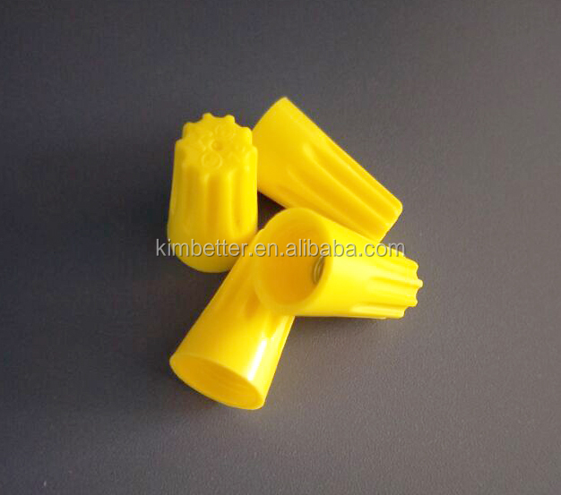 china supplier wire clip connector with UL CSA CQC ROHS certificate YELLOW P4