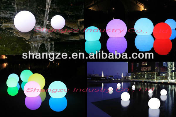 Mti color remote control led floating globe